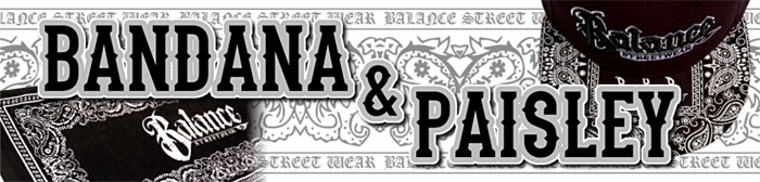 BANDANA & PAISLEY ITEMS
