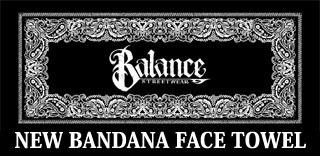 BANDANA FACE TOWEL